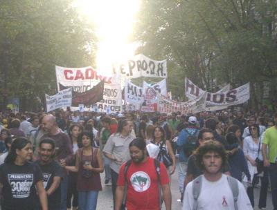 """Hoy como ayer """"Aparición con Vida de los Desaparecidos y Juicio y Castigo a los Culpables"""""""
