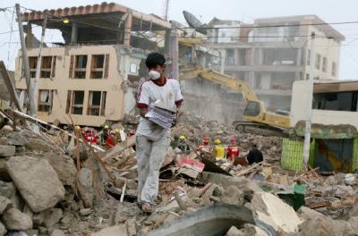 El terremoto y los buitres