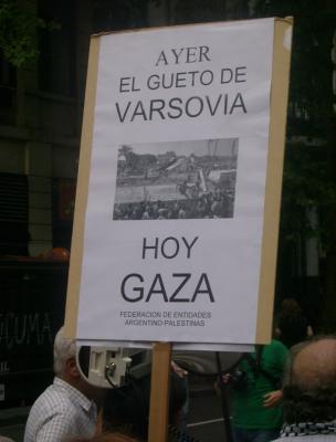 Acto en repudio al Genocidio en Gaza