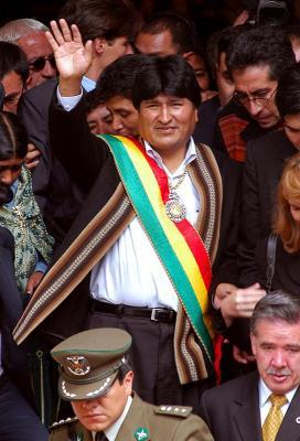 Bolivia: Grave fractura