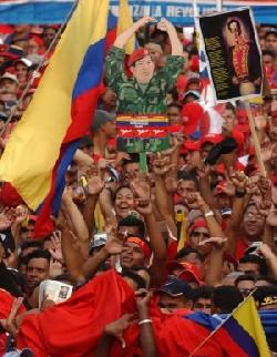 Venezuela se tiño nuevamente Roja Rojita.