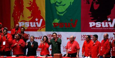 Celebran en Venezuela Primer Congreso Extraordinario de PSUV