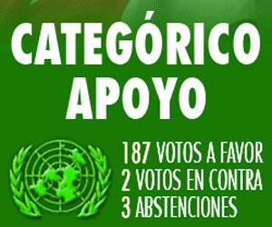 Aplastante votación contra el bloqueo de EEUU a Cuba